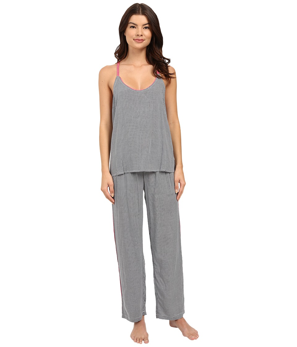 Splendid - Woven Pajama Set (Mini Checkers) Women's Pajama Sets
