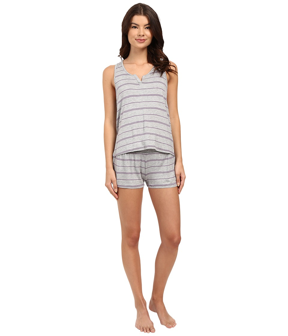 Splendid - ShortS Set (Garden Party Stripe) Women's Pajama Sets