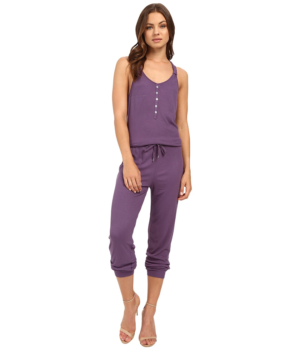 Splendid - Knotted Romper (Concord) Women's Pajama