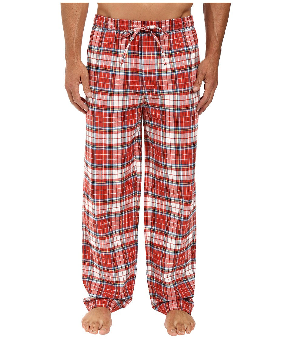 Life is good - Rust Plaid Classic Sleep Pant (Earthy Rust Plaid) Men's Pajama