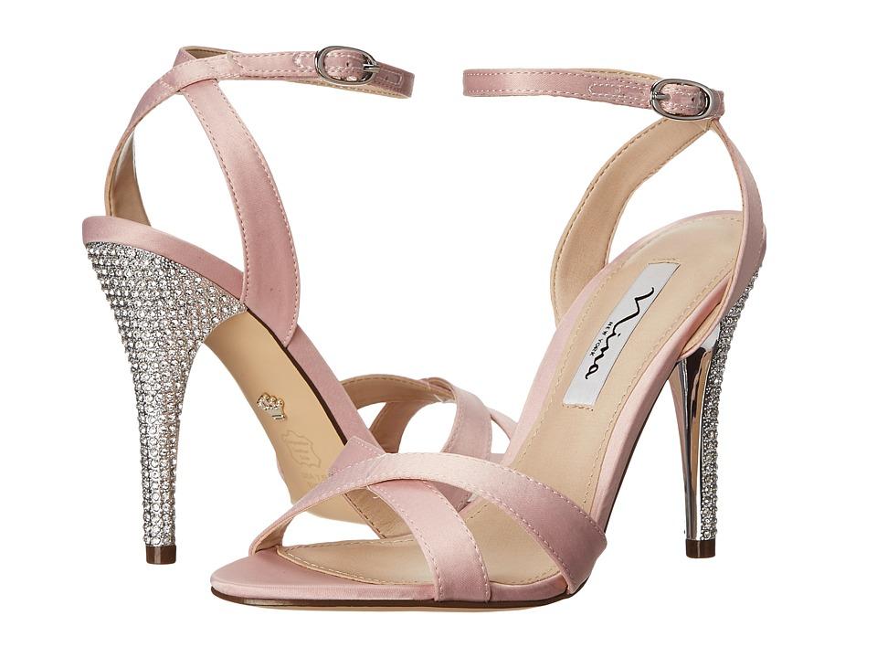 Nina - Meryly (Ballet Pink Satin) Women's 1-2 inch heel Shoes