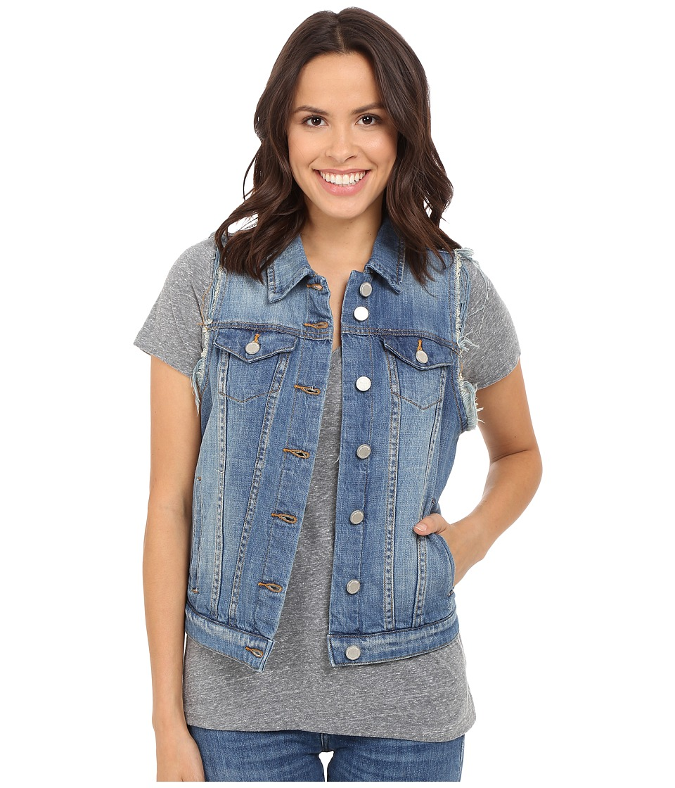 Blank NYC - Denim Vest in Meant To Be (Blue) Women's Vest