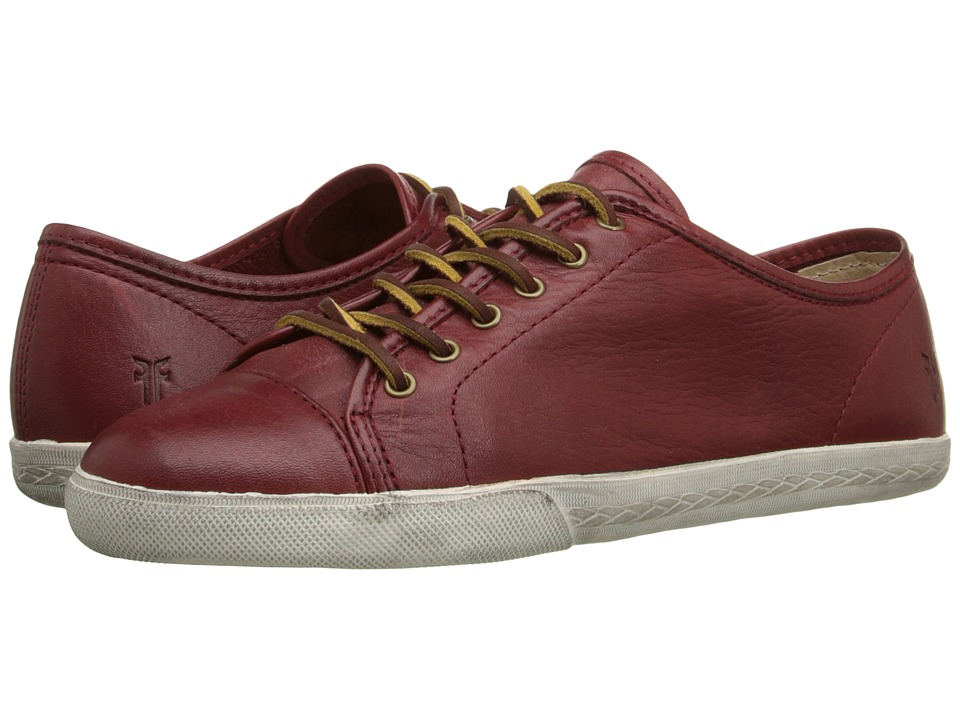 Frye - Mindy Low (Burnt Red Soft Vintage Leather) Women's Lace up casual Shoes