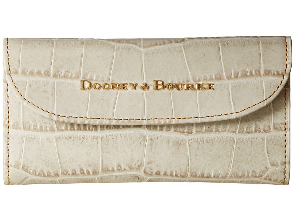 Dooney & Bourke - City Lafayette Continental Clutch (Ivory) Clutch Handbags