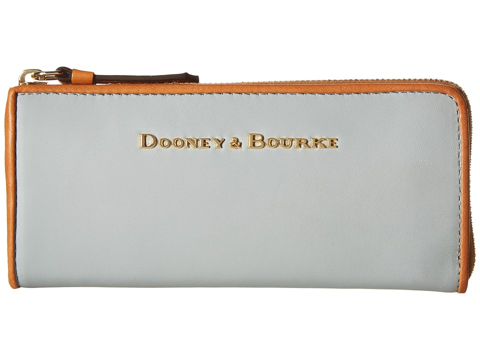 Dooney & Bourke - City Zip Clutch (Ice Blue) Clutch Handbags