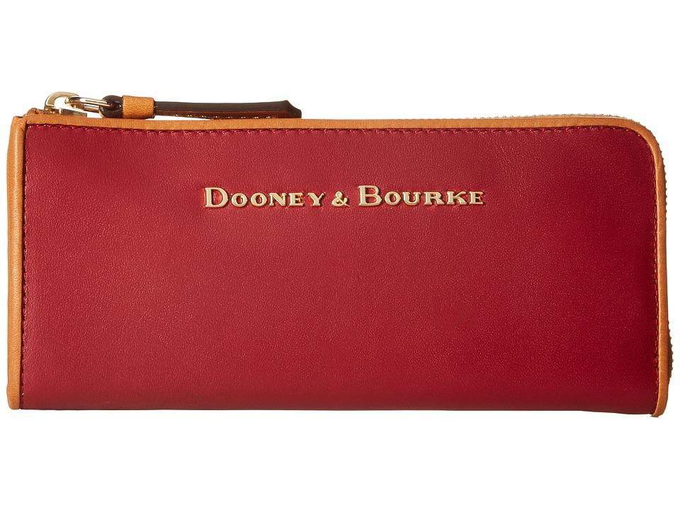 Dooney & Bourke - City Zip Clutch (Wine) Clutch Handbags
