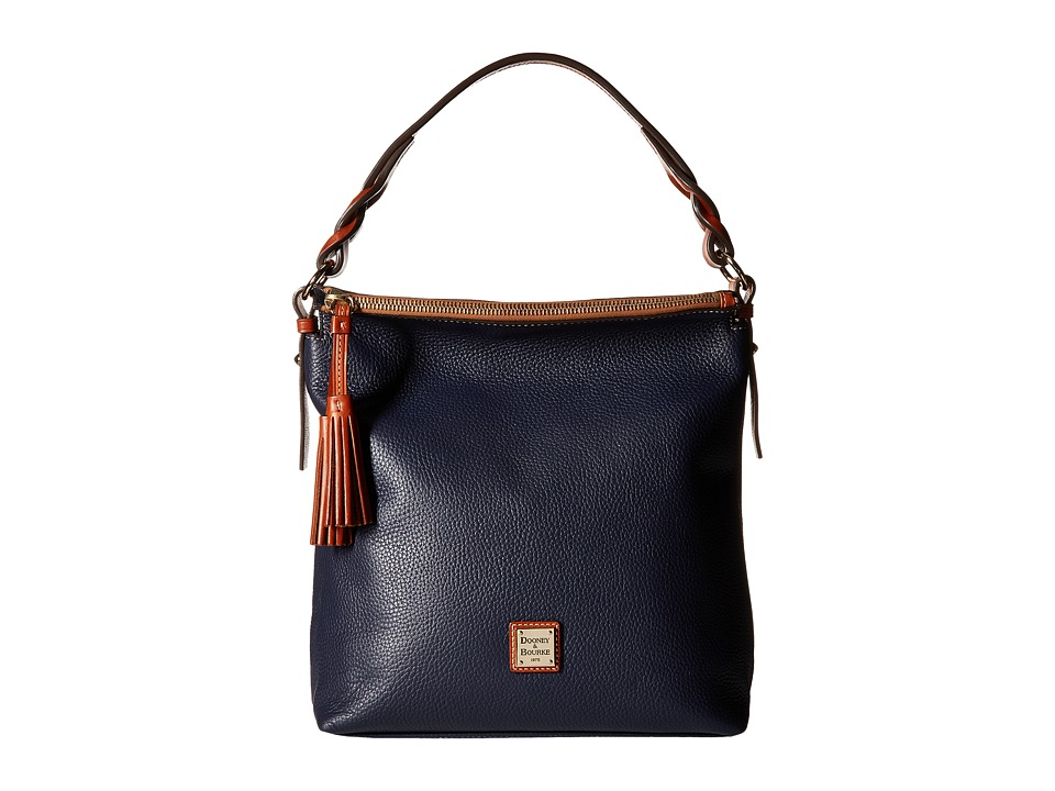 Dooney & Bourke - Pebble Small Sloan (Midnight Blue) Handbags