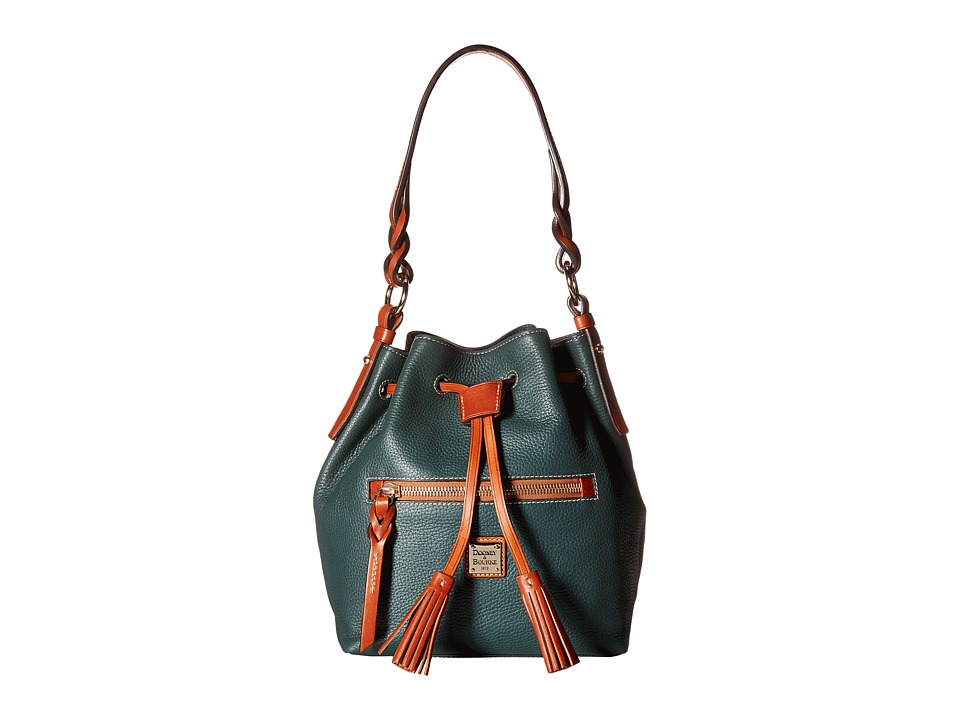 Dooney & Bourke - Pebble Small Logan (Hunter) Handbags