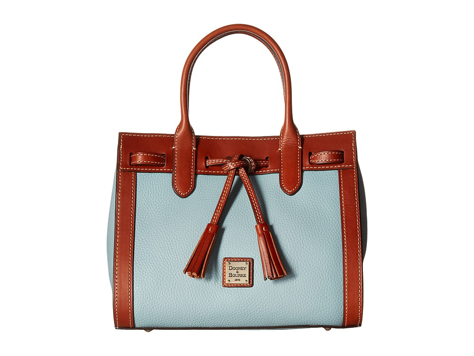 Dooney & Bourke - Pebble Ariel Satchel (Heather) Handbags