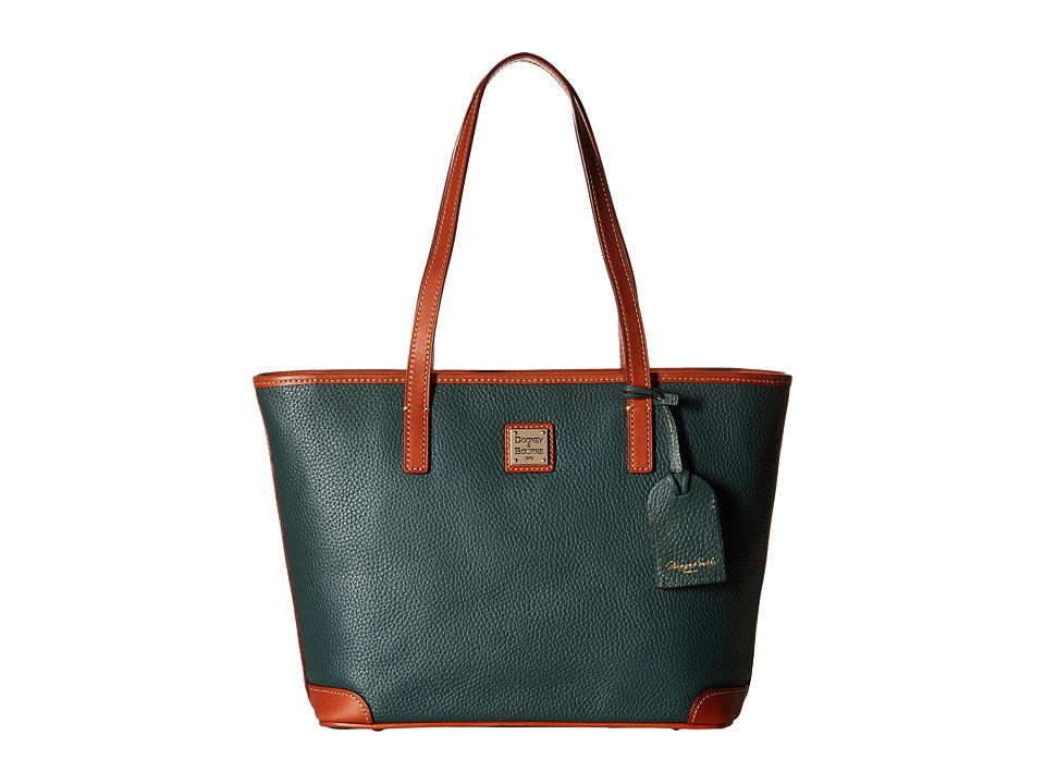 Dooney & Bourke - Pebble Charleston Shopper (Hunter) Tote Handbags