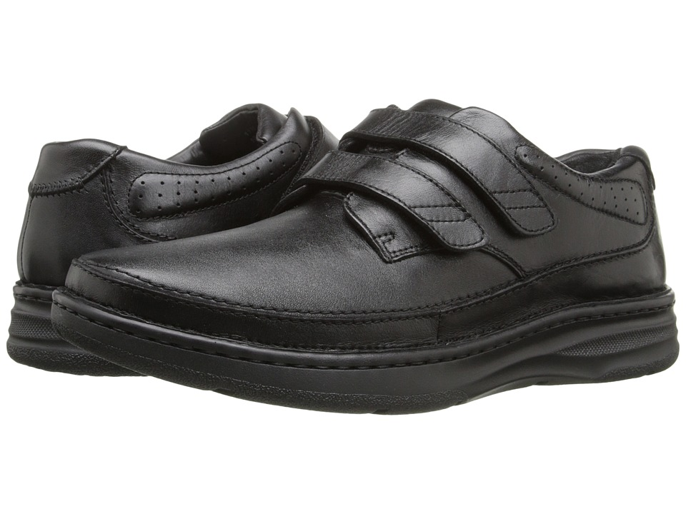 Drew - Mansfield (Black Leather) Men's Flat Shoes