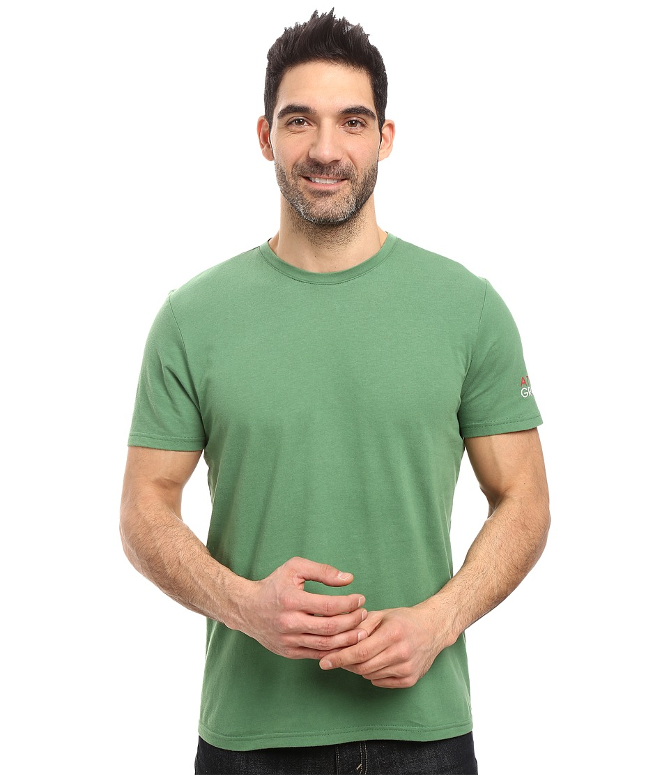 Life is good - Attitude Gratitude Sleep Tee (Natural Green) Men's Pajama