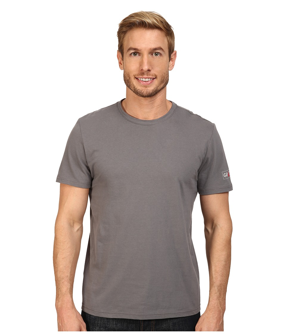 Life is good - Grateful Pine Tree Sleep Tee (Slate Gray) Men's Pajama