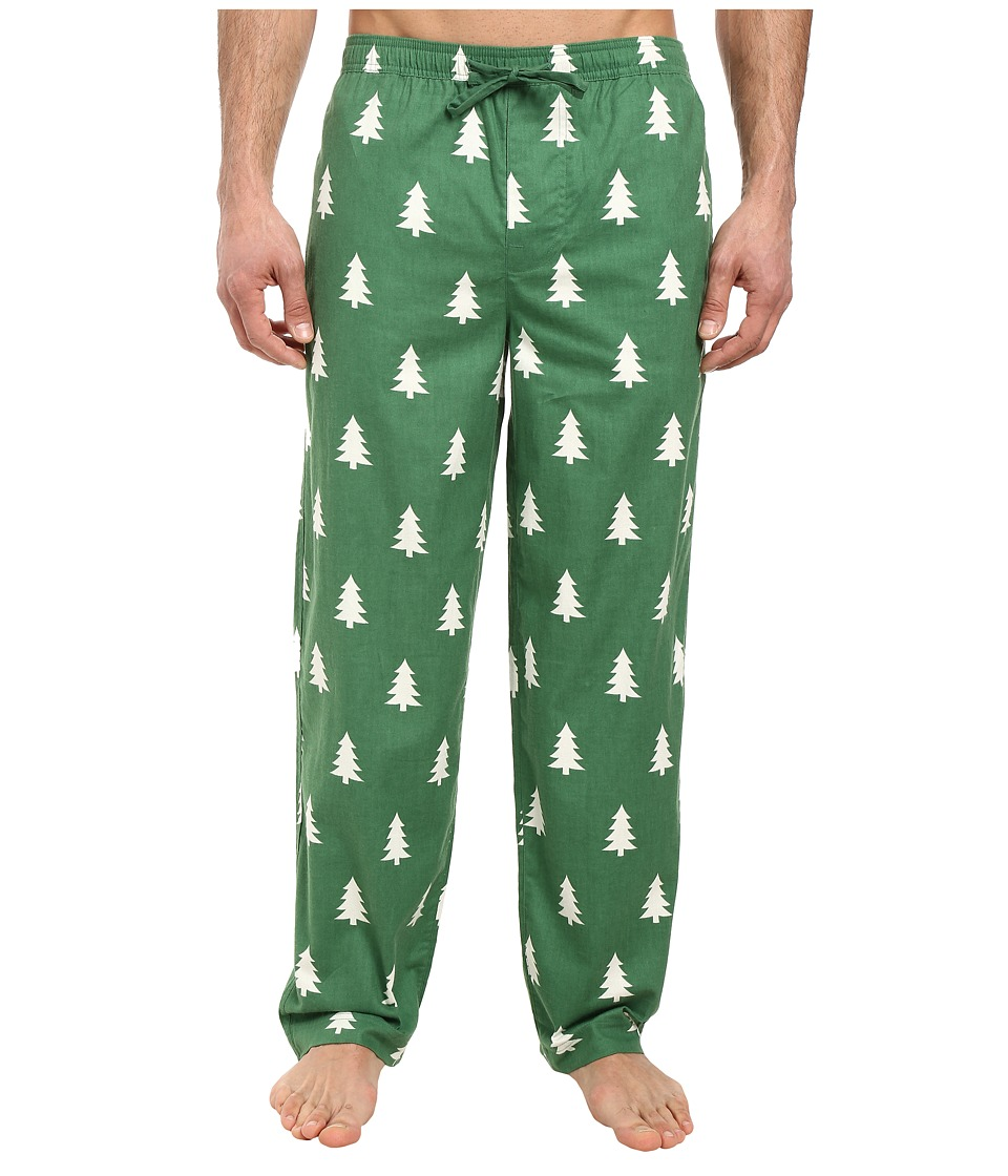 Life is good - Classic Sleep Pants (Natural Green/Pine Tree) Men's Pajama