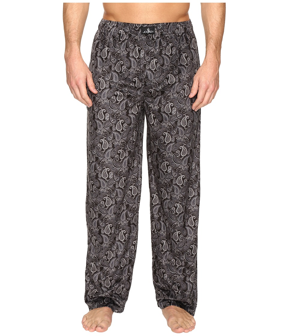 Jockey - Matt Silky Fleece Pants (Oxford) Men's Pajama
