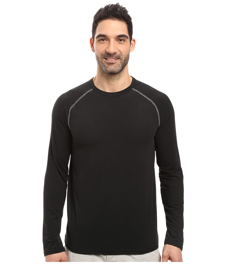 Jockey - Cool-Sleep Sueded Jersey Top (Black) Men's Pajama
