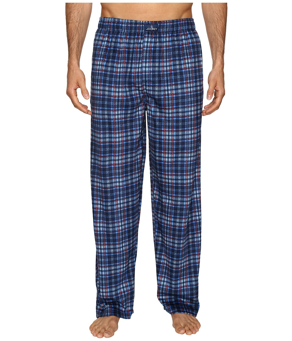 Jockey - Matt Silky Fleece Pants (Navy 1) Men's Pajama