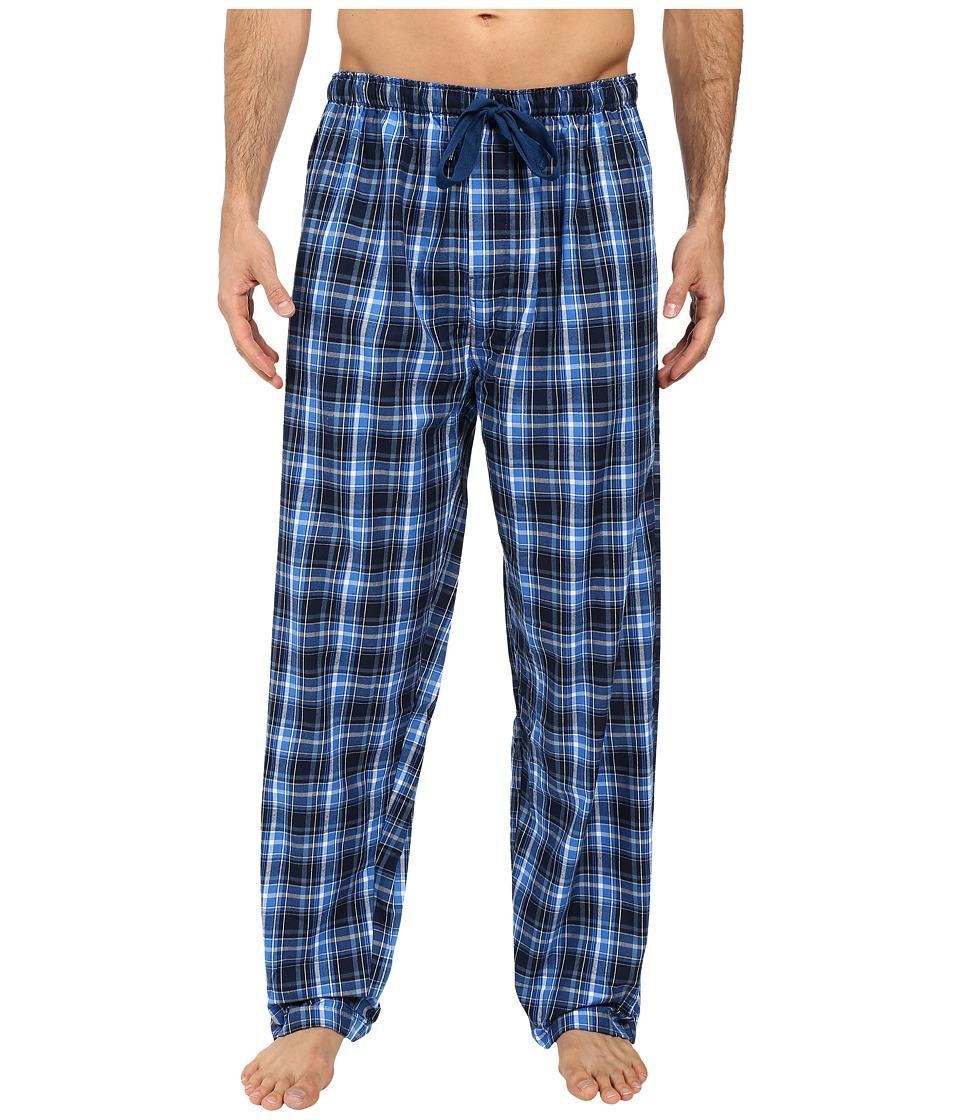 Jockey - Poly-Rayon Woven Pants (Navy) Men's Pajama