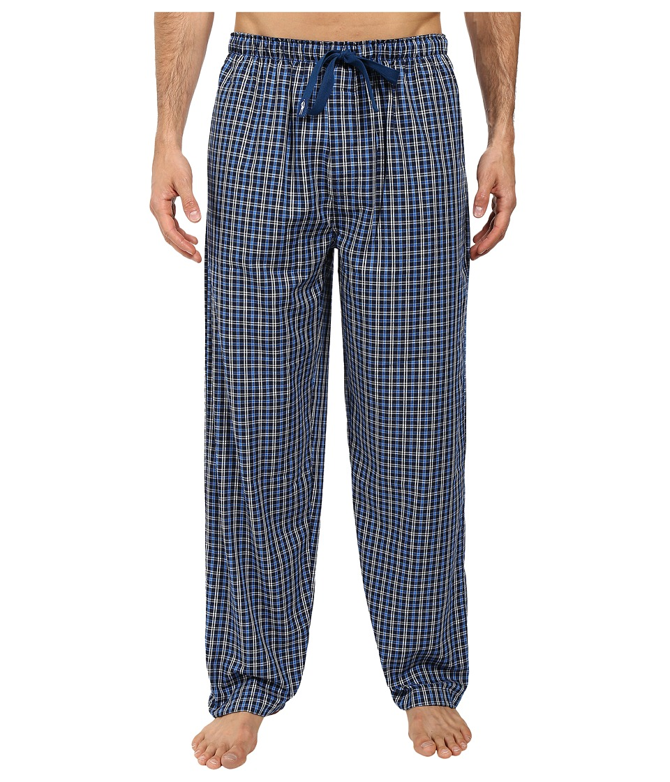 Jockey - Poly-Rayon Woven Pants (Navy 1) Men's Pajama