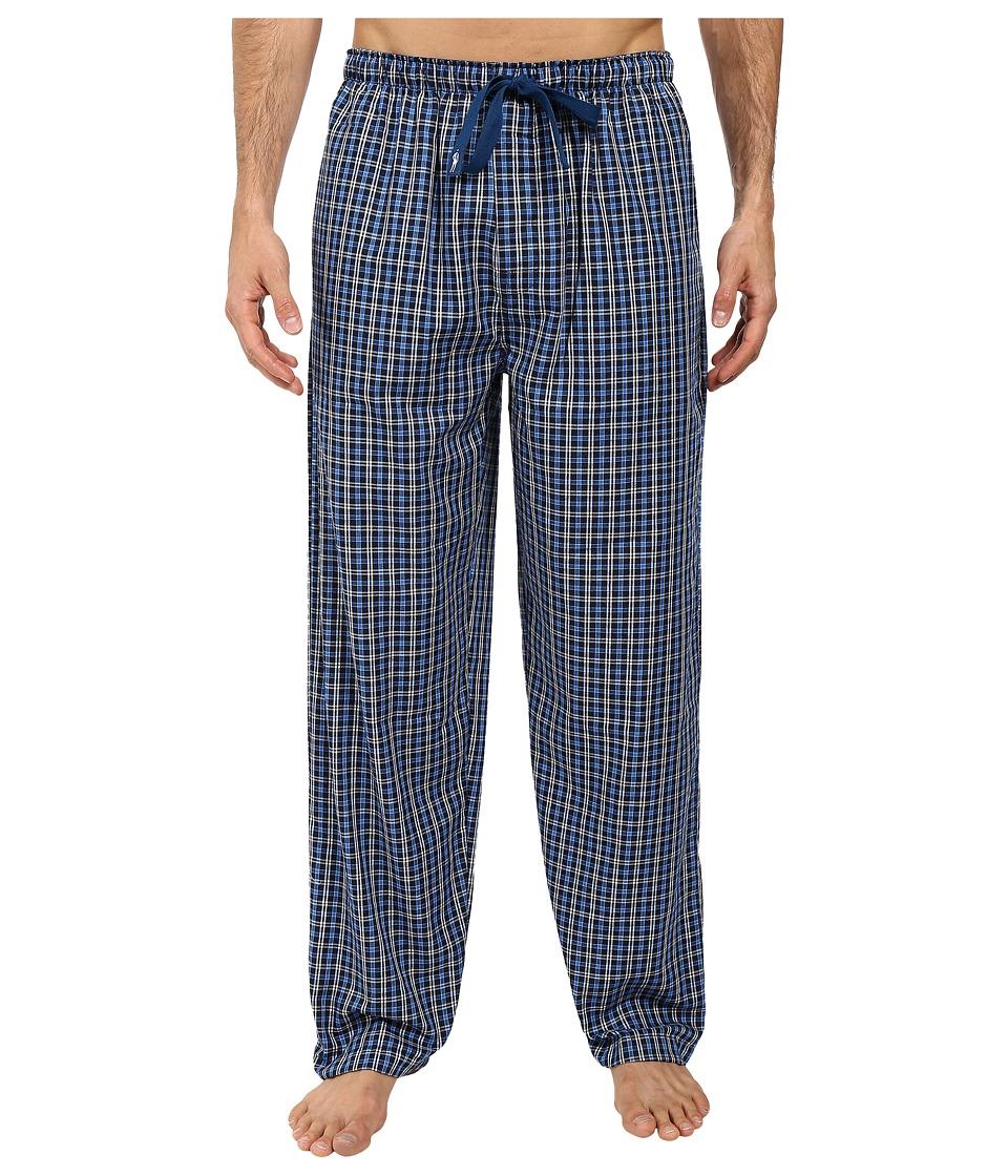 Jockey - Poly-Rayon Woven Pants (Navy 1) Men's Pajama