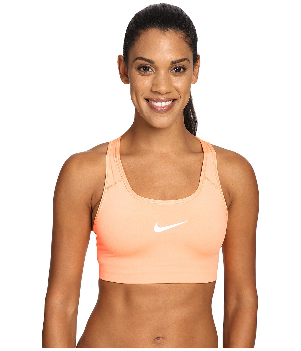 Nike - Pro Classic Swoosh Sports Bra (Peach Cream) Women's Bra