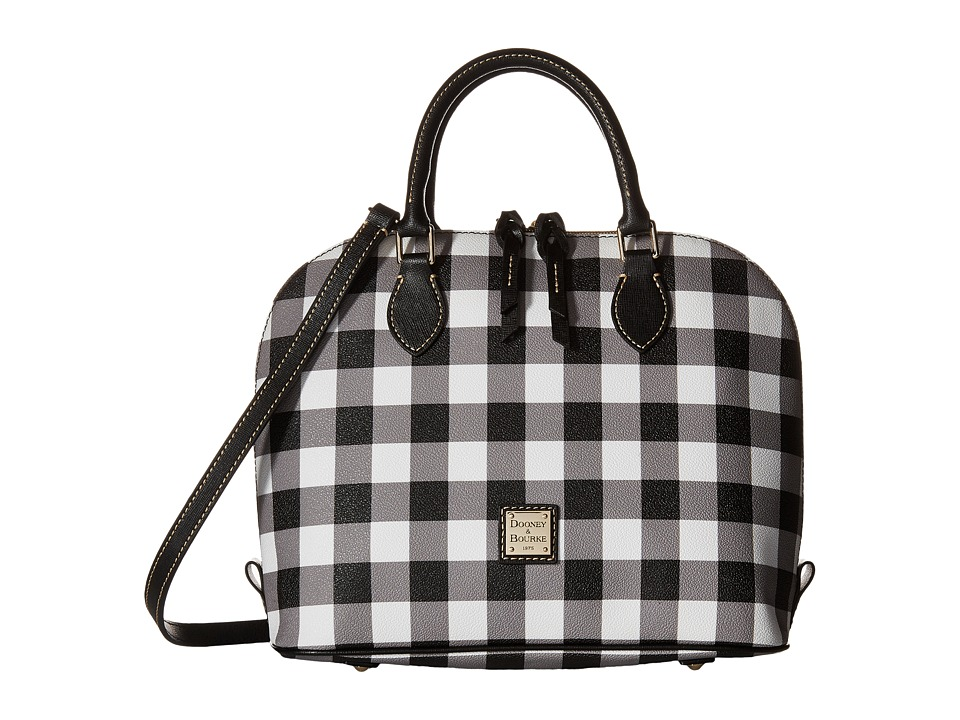 Dooney & Bourke - Tucker Zip Zip Satchel (Black) Satchel Handbags