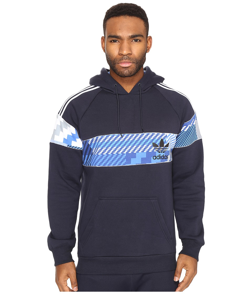 adidas Originals - Essentials Pullover Hoodie (Legend Ink/White) Men's Sweatshirt