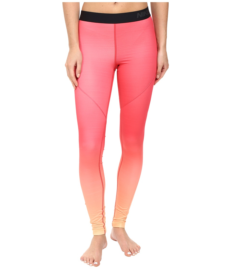 Nike Pro Hyperwarm Training Tight (Peach Cream/Ember Glow/Peach Cream) Women
