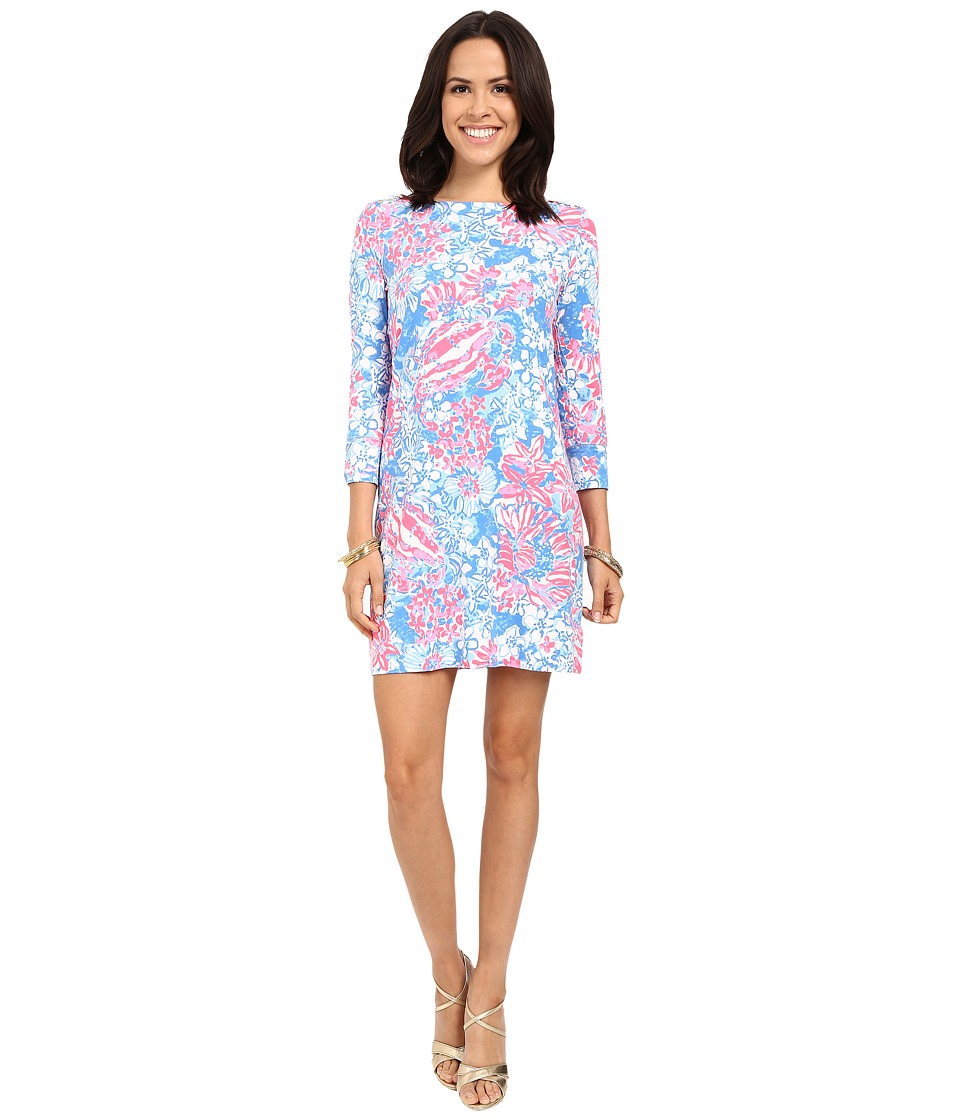 Lilly Pulitzer - UPF 50+ Sophie Dress (Bay Blue Pop Pop) Women's Dress