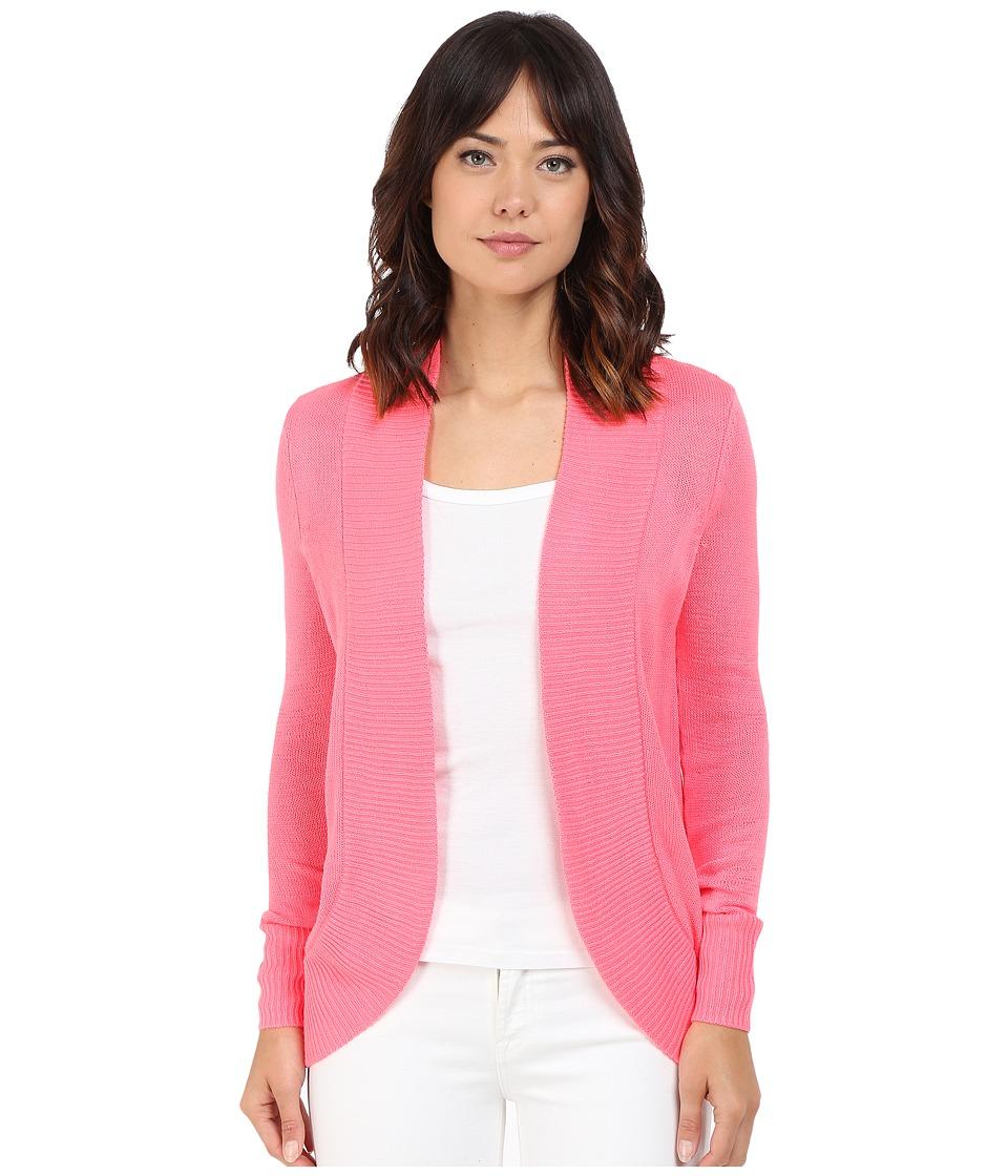 Lilly Pulitzer - Amalie Cardigan (Pink Sunray) Women's Sweater