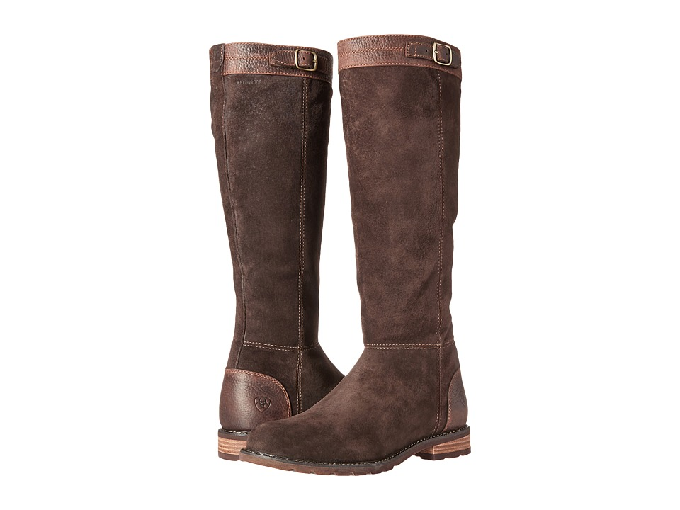 Ariat - Creswell H2O (Chocolate Chip) Cowboy Boots