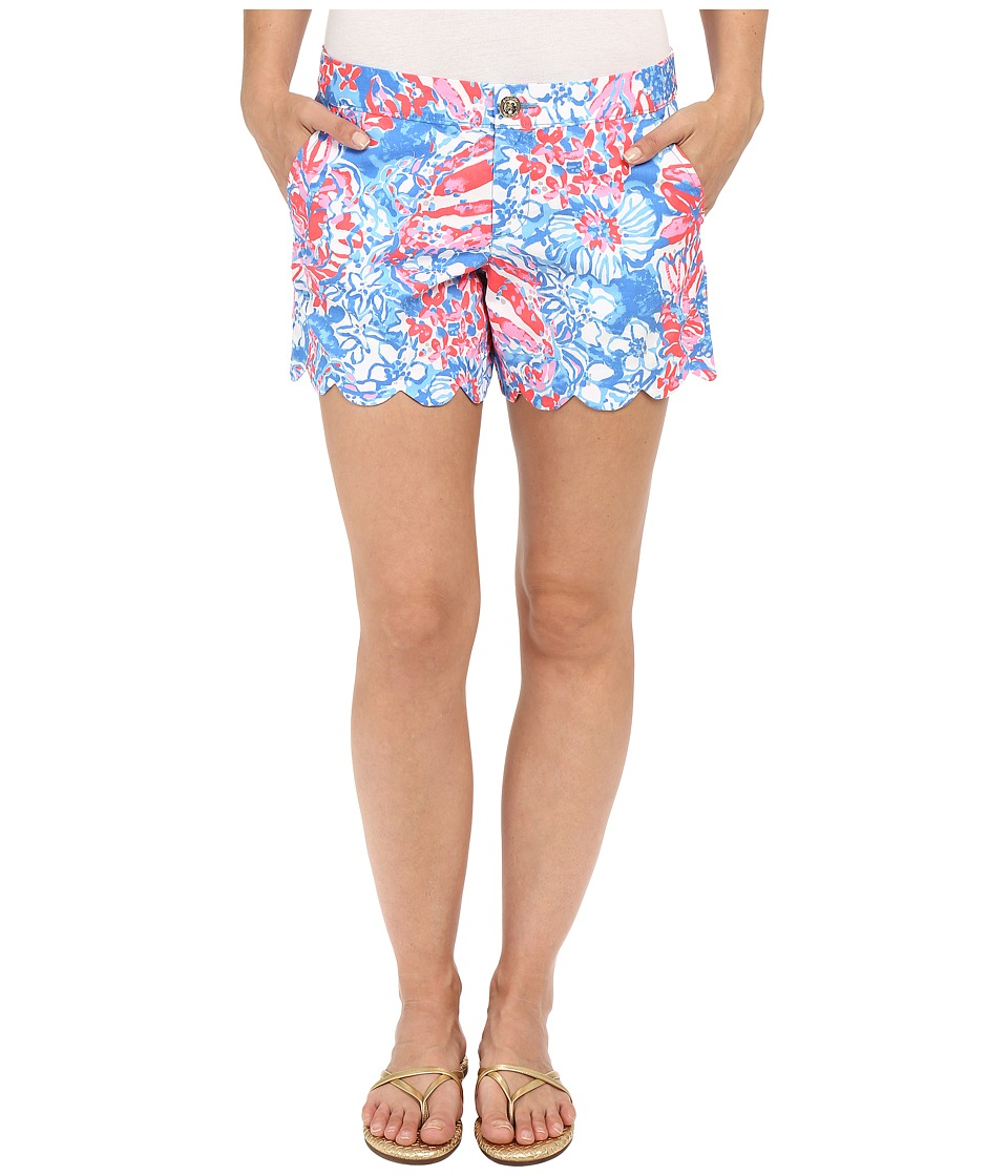 Lilly Pulitzer - Buttercup Shorts (Bay Blue Pop Pop Glow) Women's Shorts