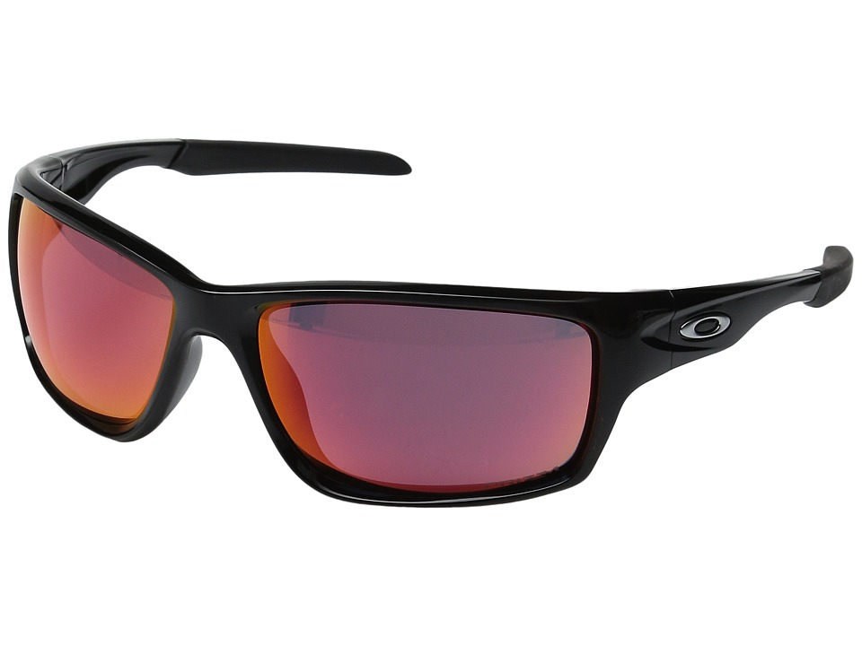 Oakley - Canteen (Polished Black w/ Prizm Baseball Outfield) Sport Sunglasses