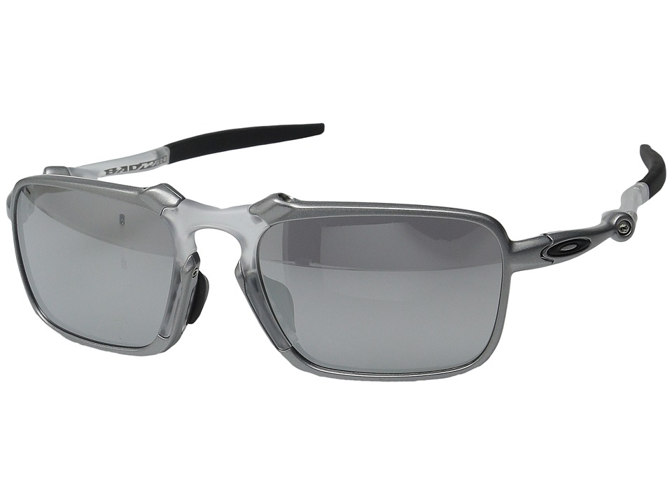 Oakley - Badman X (Asia Fit) (Tin w/ Chrome Iridium) Sport Sunglasses