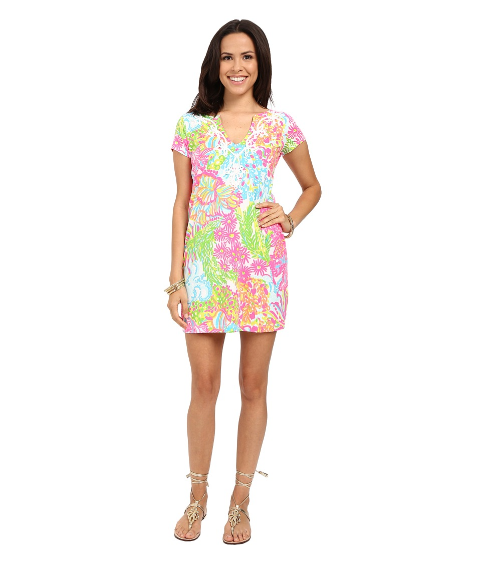 Lilly Pulitzer - Brewster Dress (Multi More Lovers Coral) Women's Dress