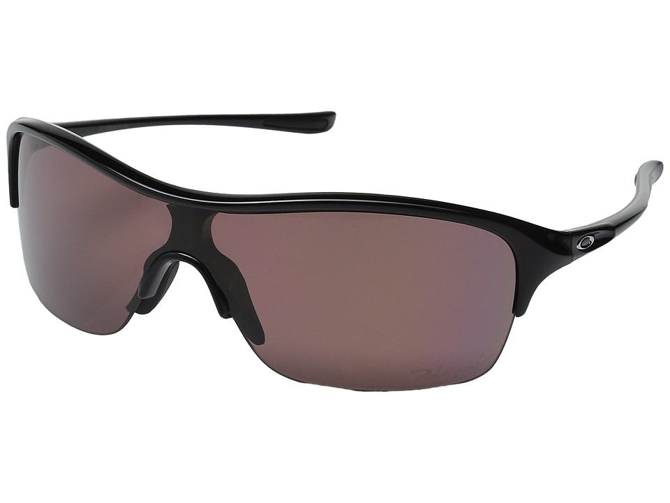 Oakley - Be Unstoppable Polarized (Polished Black w/ OO Grey) Sport Sunglasses