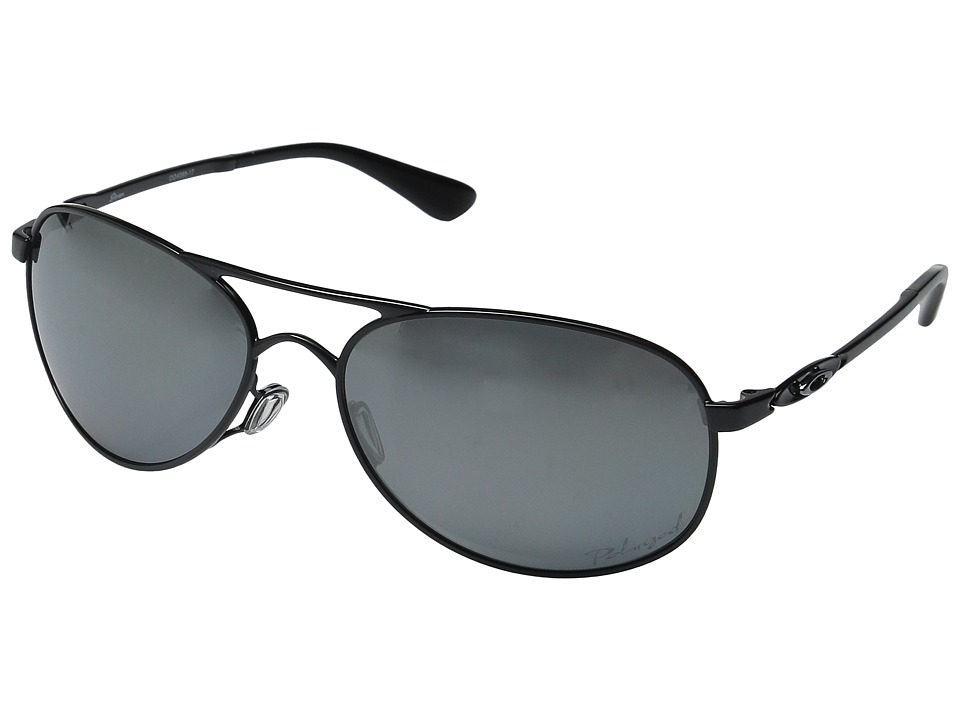 Oakley - Given Polarized (Polished Black/Black Iridium) Sport Sunglasses