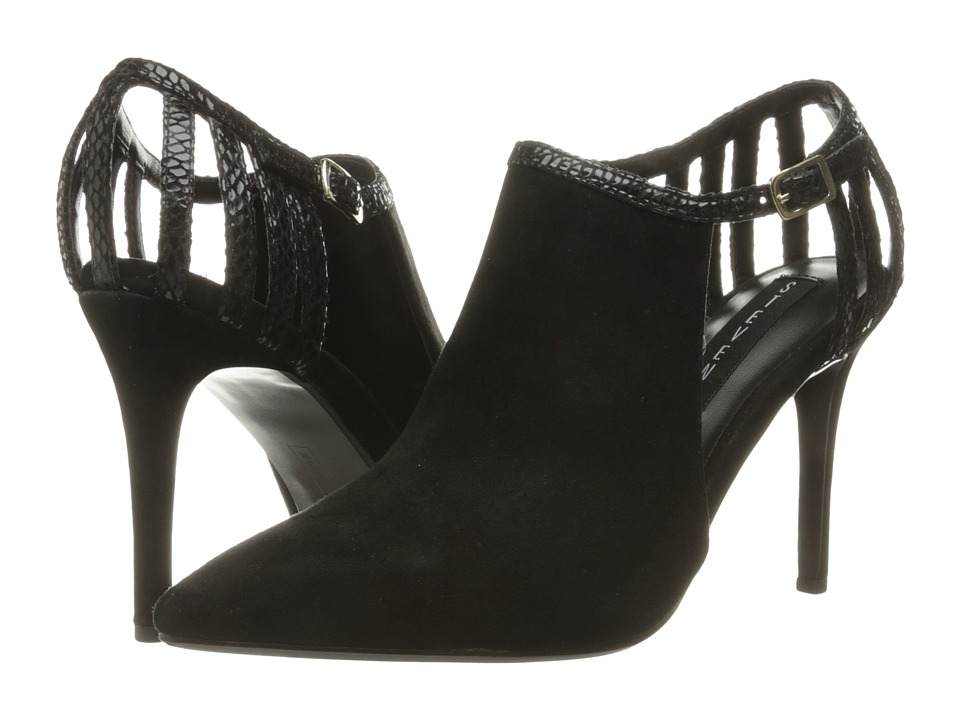 Steven - Amya (Black Multi) High Heels