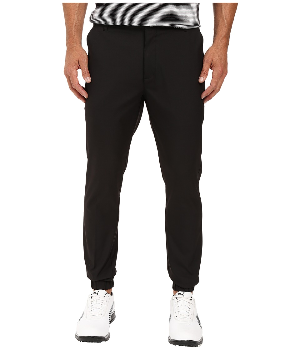 PUMA Golf - Performance Joggers (Black) Men's Clothing