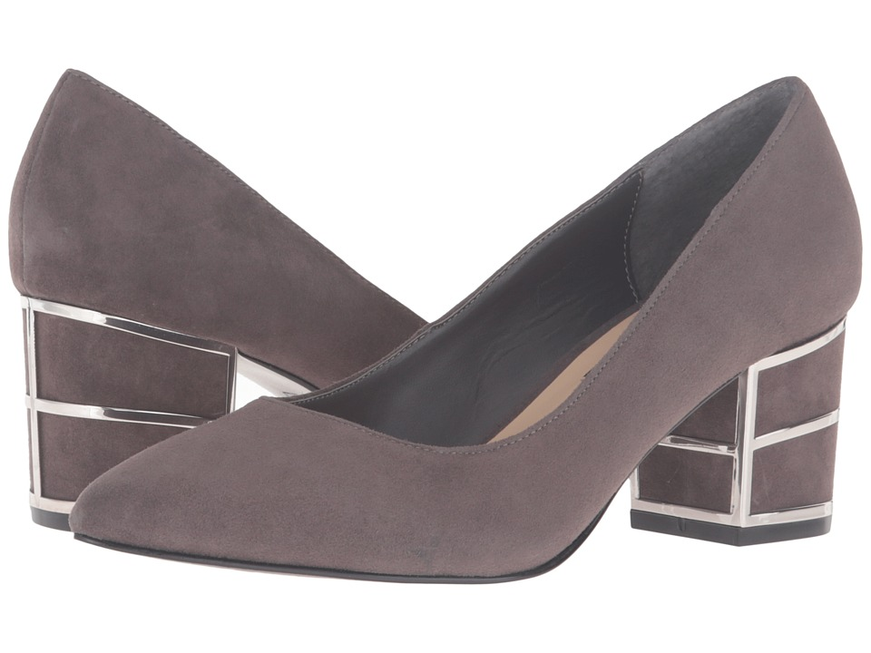 Steven Buena (Grey Suede) High Heels