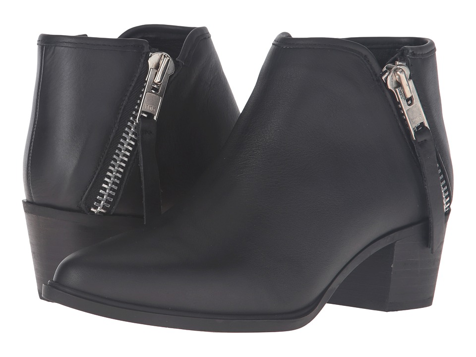 Steven - Doris (Black Leather) Women's Boots