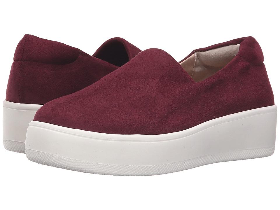 Steven - Hilda (Burgundy) Women's Slip on Shoes