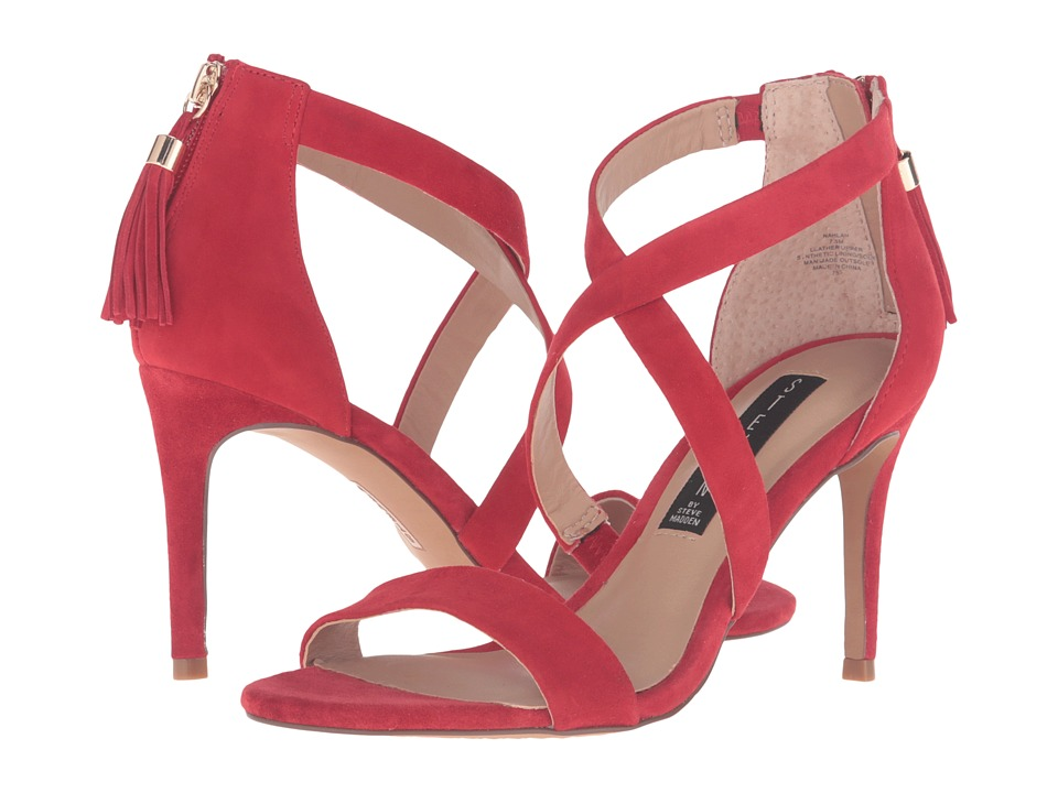 Steven - Nahlah (Red Suede) High Heels