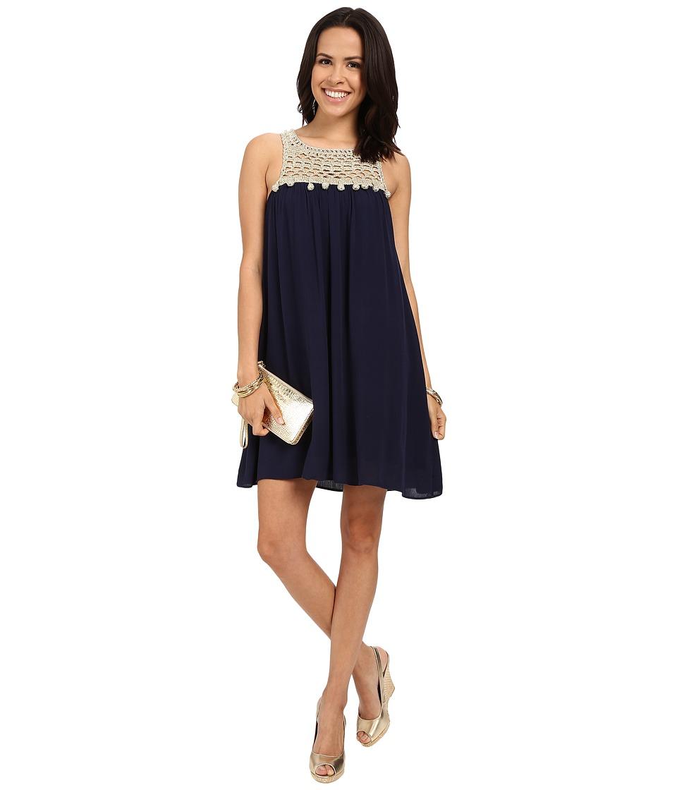 Lilly Pulitzer - Rachelle Dress (True Navy) Women's Dress