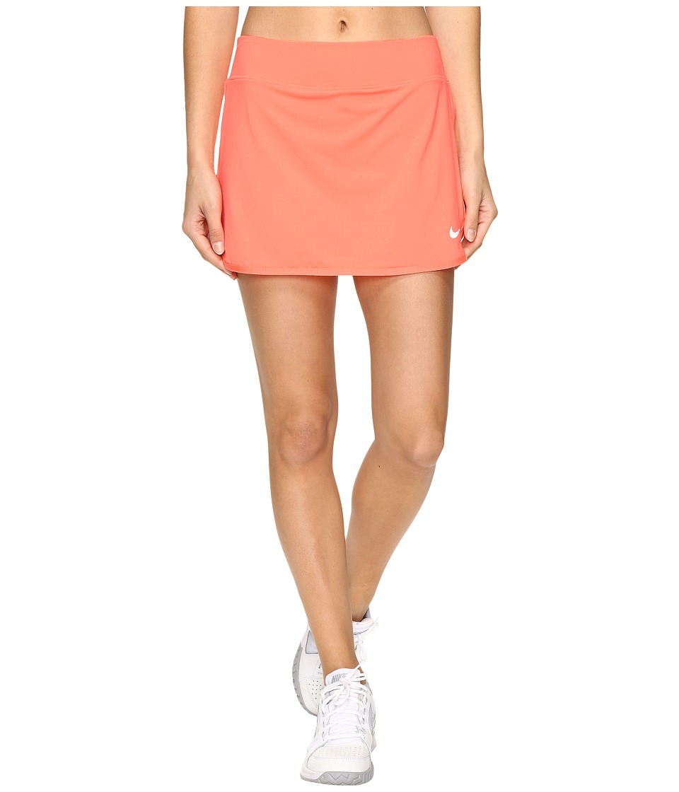 Nike Pure Skirt (Bright Mango/White) Women