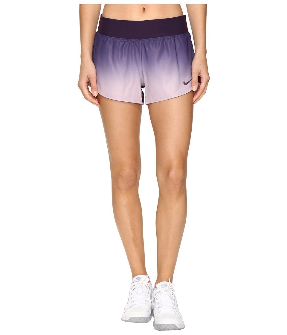 Nike - Court Flex Ace Tennis Short (Purple Dynasty/Purple Dynasty) Women's Shorts
