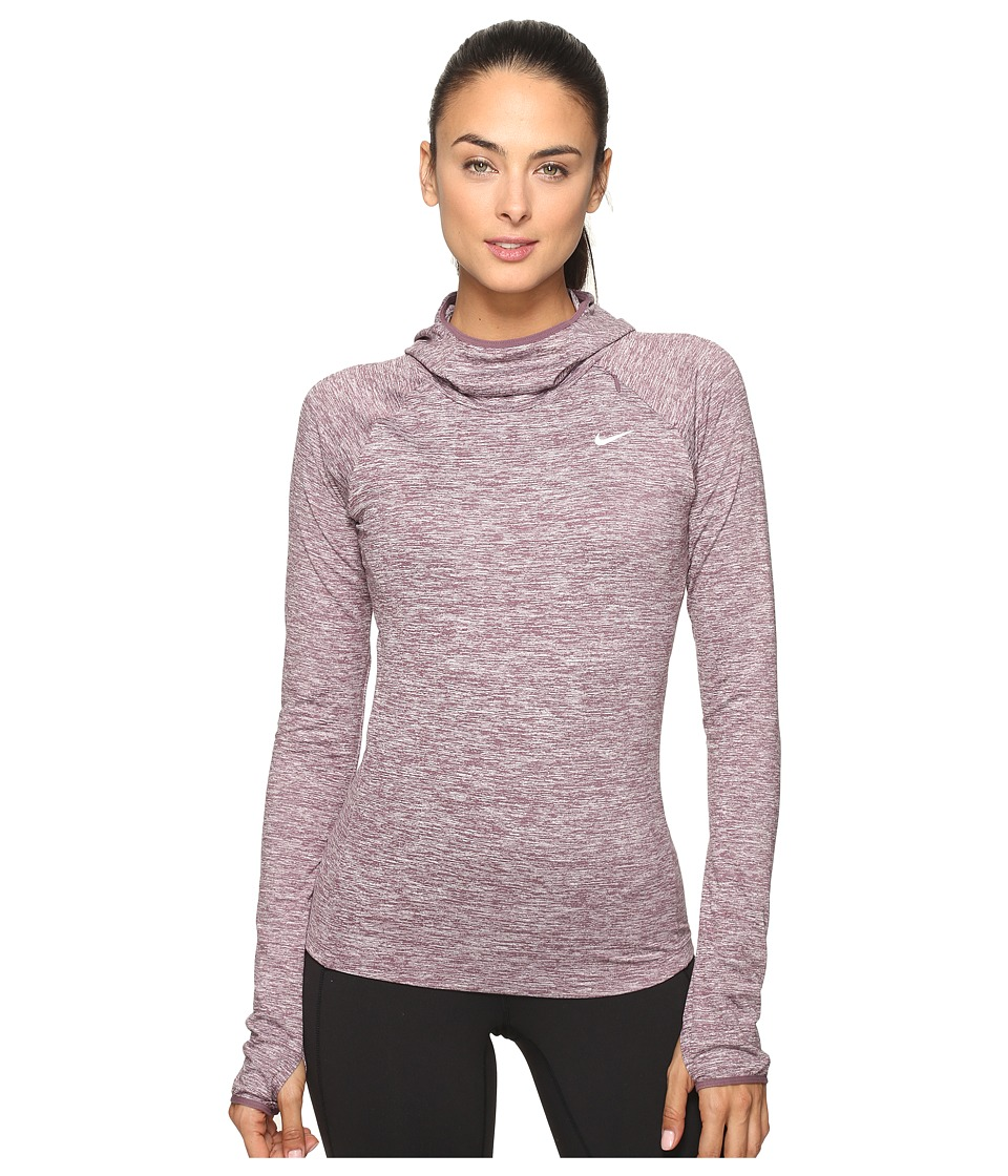 Nike - Dry Element Running Hoodie (Purple Shade) Women's Sweatshirt
