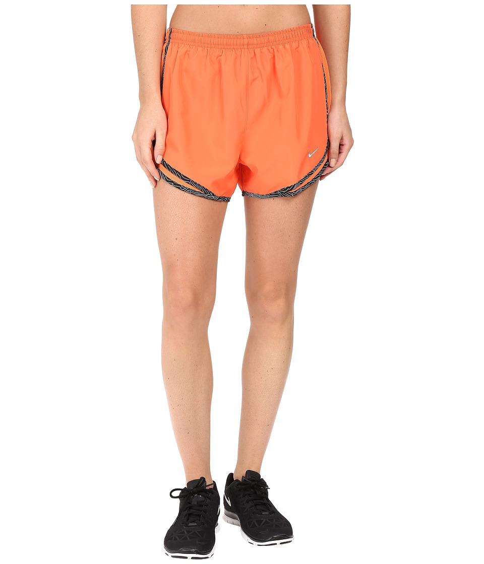 Nike - Tempo Short (Turf Orange/Black/Wolf Grey) Women's Workout