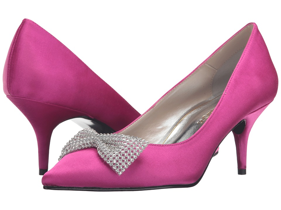 Caparros - E-Bow (Magenta Satin) Women's 1-2 inch heel Shoes