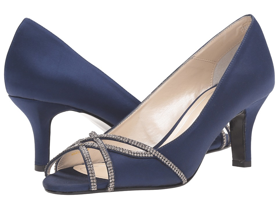 Caparros Eliza (Navy Satin) High Heels